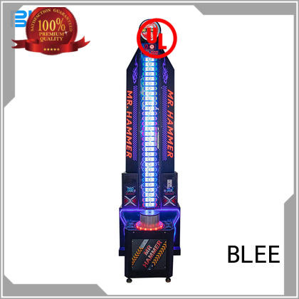 BLEE top stand up video game machines factory for children