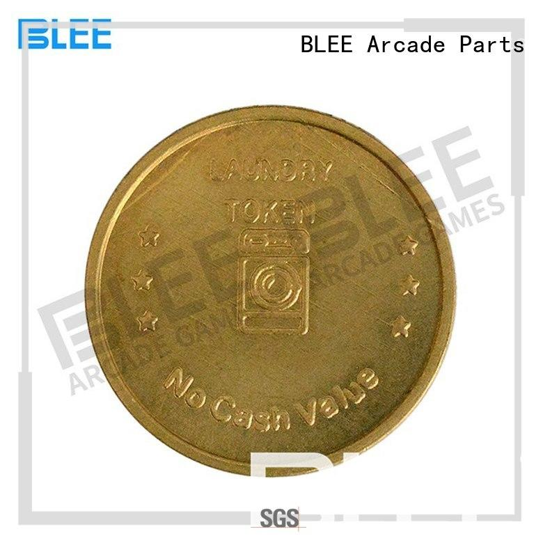 hot sale custom coins tokens brass wholesale for children