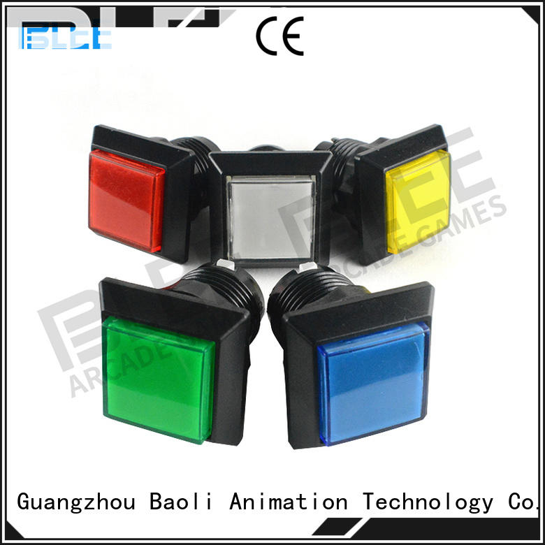 BLEE qualified led arcade buttons bulk production for marketing