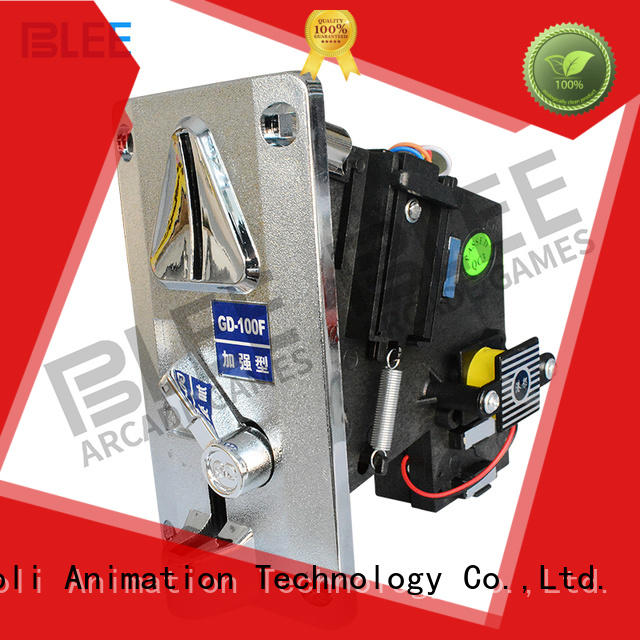 funny coin acceptors mechanical bulk production for children