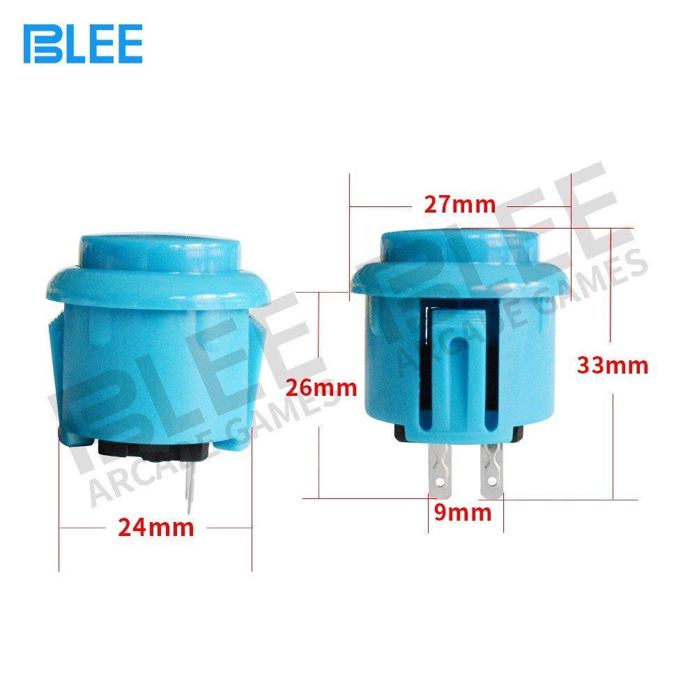 BLEE-Free Sample 24mm Sanwa Style Arcade Button - Blee Arcade Parts-1