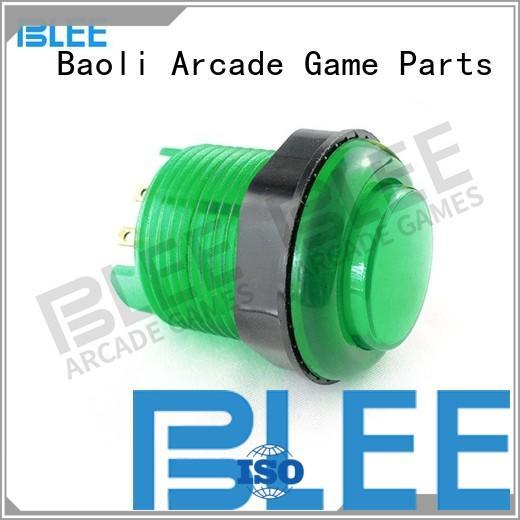 happ Custom illuminated 60 arcade buttons BLEE american