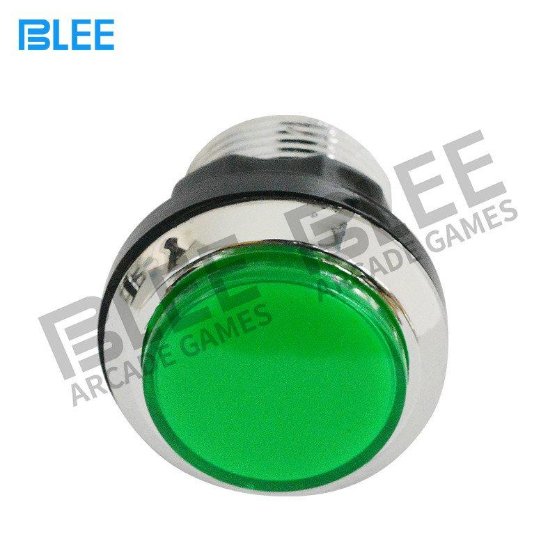 BLEE-Electroplated Arcade Push Button With Led | Arcade Cabinet Buttons | Arcade-1