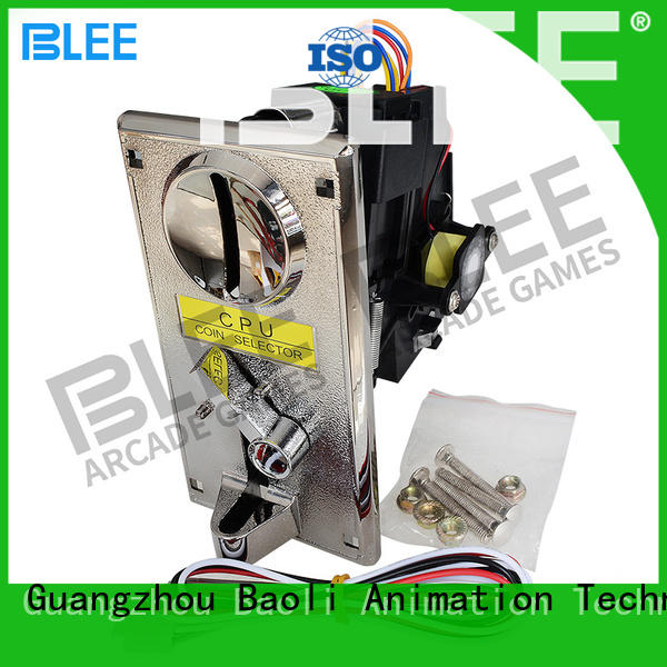 BLEE hotselling electronic coin acceptor bulk production for shopping