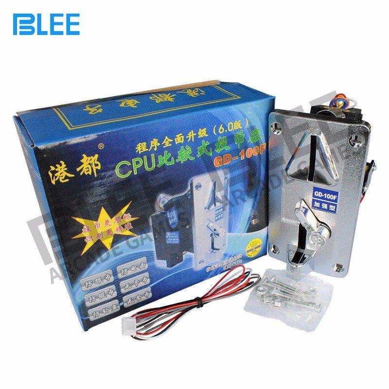 BLEE-Find Electronic Vending Machine Multi Coin Acceptor-gd100f On Blee Arcade Parts