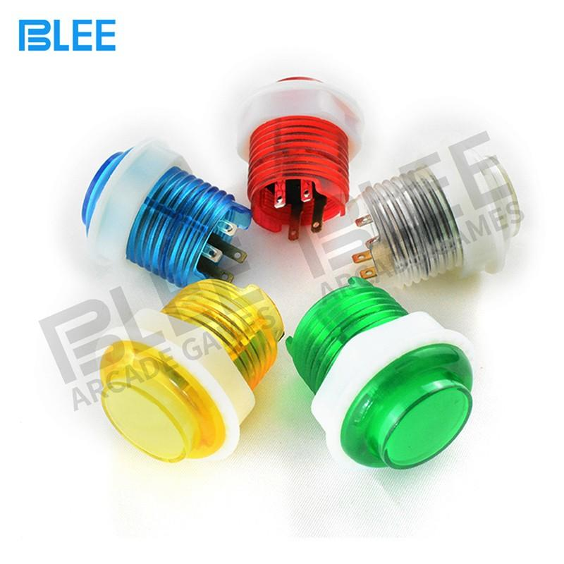 BLEE-Find Arcade Buttons And Joysticks Kit sanwa Clear Buttons