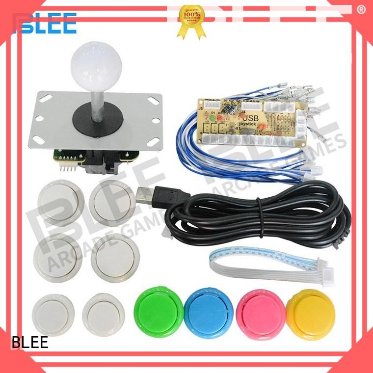 BLEE inexpensive arcade joystick and buttons kit for marketing
