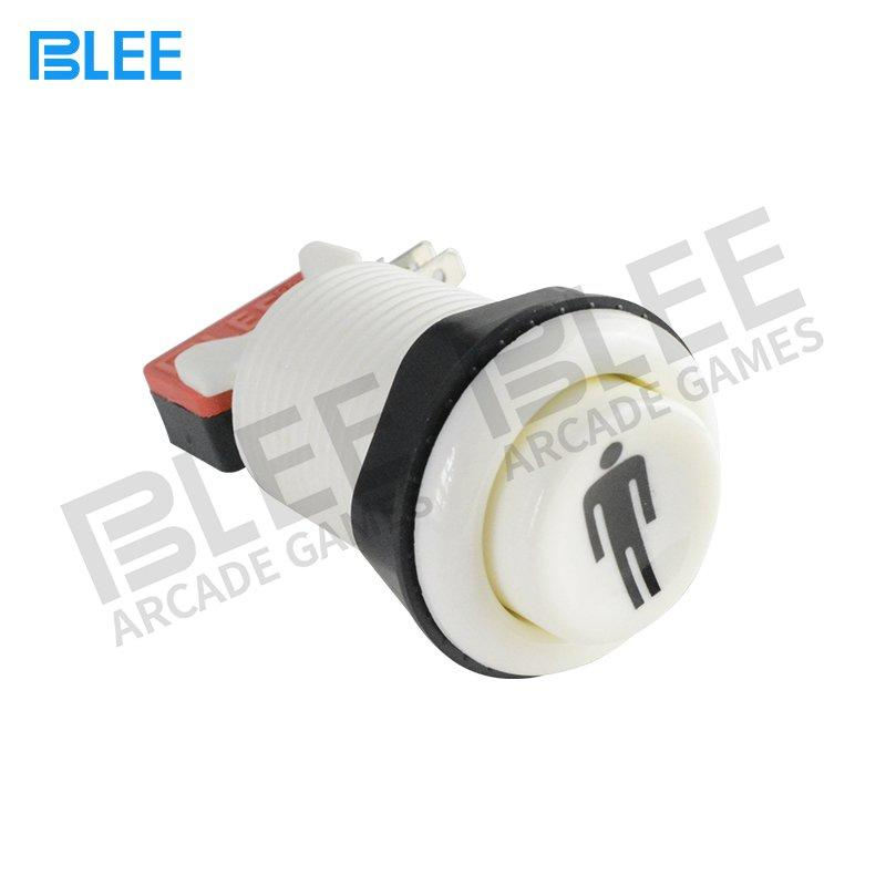 BLEE-Free Sample 1 Player Concave Arcade Push Buttons | Led Arcade Buttons Factory-1