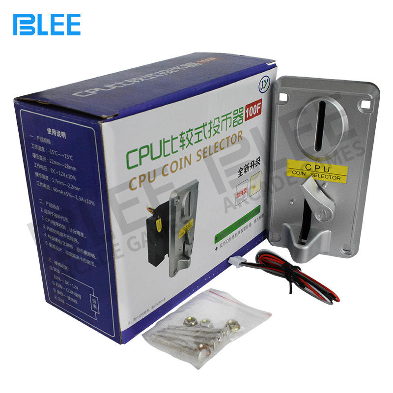 BLEE lightwei coin acceptors bulk production for entertainment-1