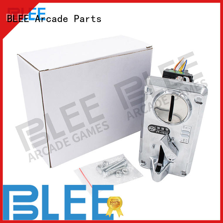 excellent electronic coin acceptor operated free design for entertainment