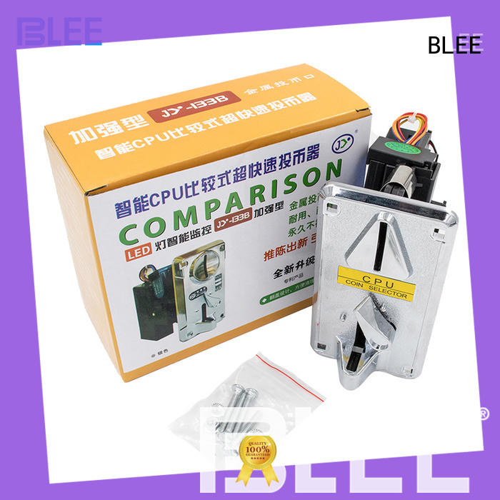 BLEE inexpensive coin acceptors free design for marketing