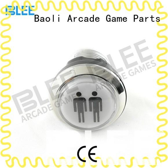 BLEE 24mm sanwa clear buttons factory price for free time