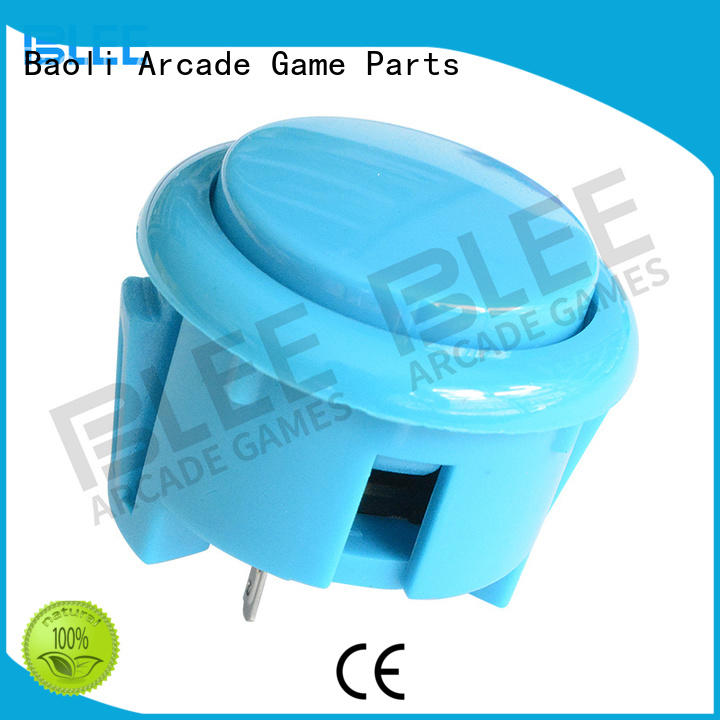 BLEE Brand clear small arcade buttons pin factory