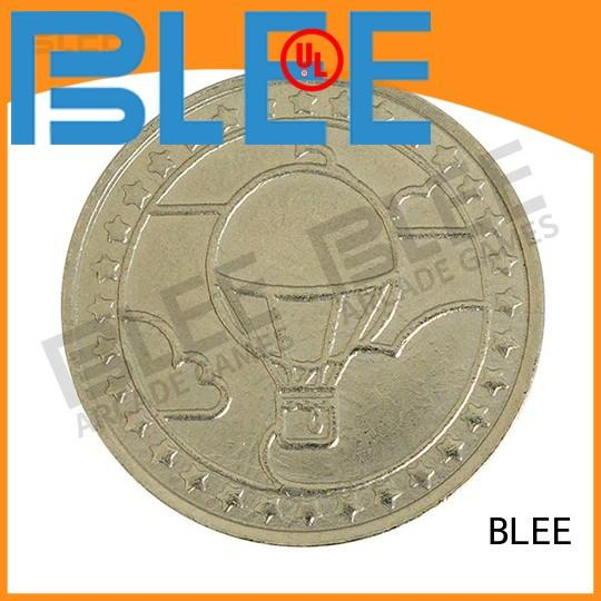 BLEE high-quality custom coins and tokens inquire now for entertainment